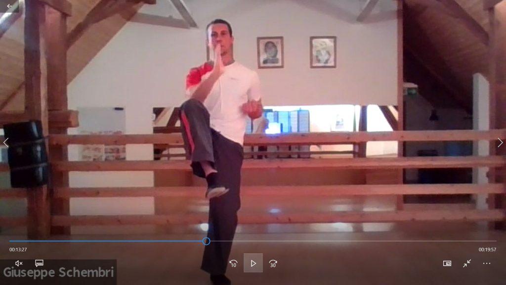 Kids-Lektion Gleichgewicht mit Johannes
