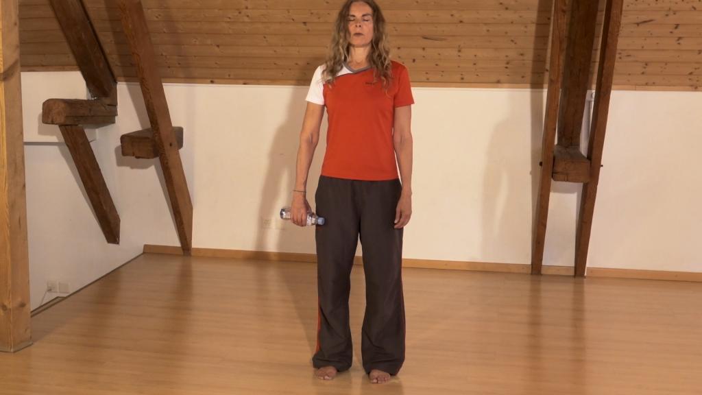 SensoUno: entspannte Schultern